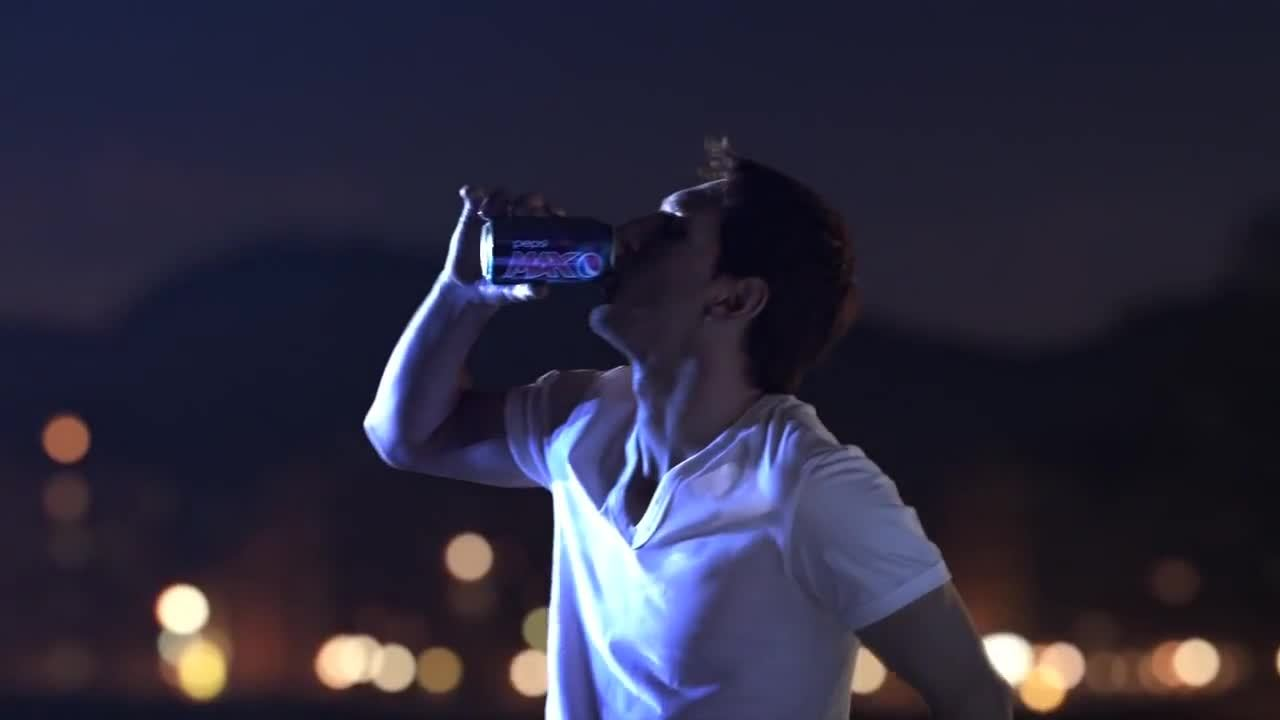 soccercirclejerk, Look at the way Messi drinks from this can. The man is a genius! (reddit) GIFs
