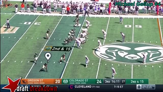 Watch and share Michael Gallup (Colorado State WR) Vs Oregon State 2017 GIFs on Gfycat