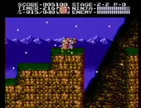 Watch and share Ninja Gaiden - NES - Angry Video Game Nerd - Episode 87 GIFs on Gfycat