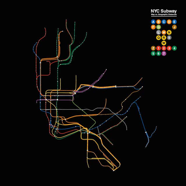 Mesmerizing Gifs Comparing Major Cities Subway Maps With Their