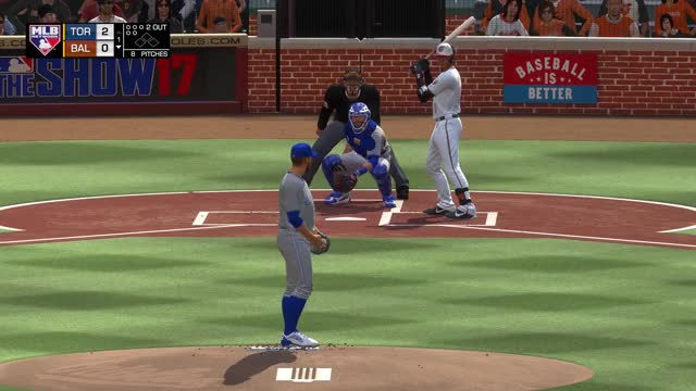 Watch and share Mlb The Show 17 GIFs and Blue Jays GIFs by strawberryshortcake on Gfycat
