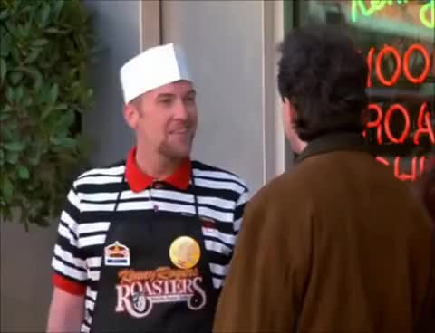 Watch this seinfeld GIF on Gfycat. Discover more bad chicken, chicken, cosmo kramer, elaine benes, george costanza, jason alexander, jerry seinfeld, julia louis-dreyfus, kenny rogers, kenny rogers roasters, kramer, michael richards, seinfeld GIFs on Gfycat