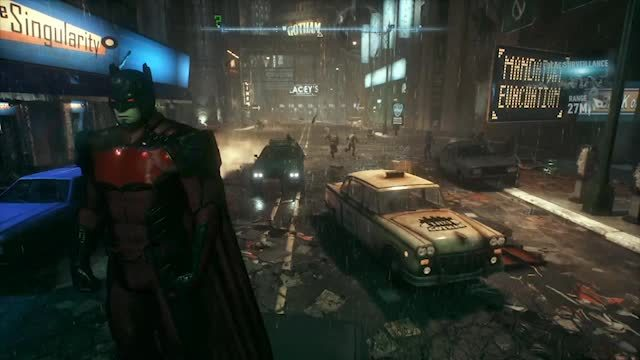 batmanarkham, Arkham Knight Batmobile 3 GIFs