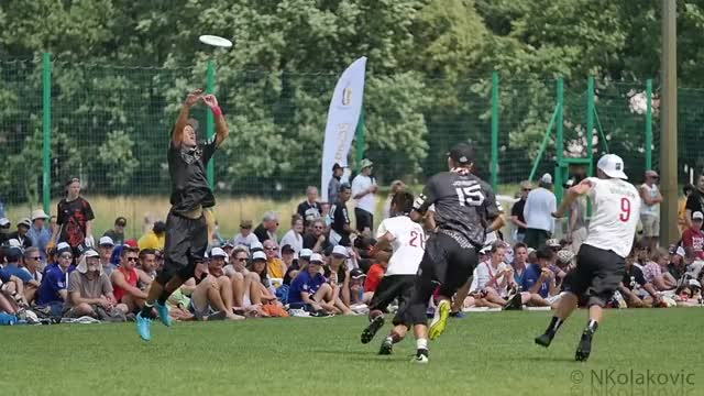 Watch WJUC 2016 Finals Highlights: Canada vs USA - NKolakovic GIF on Gfycat. Discover more frisbee, nkolakovic, ultimate GIFs on Gfycat