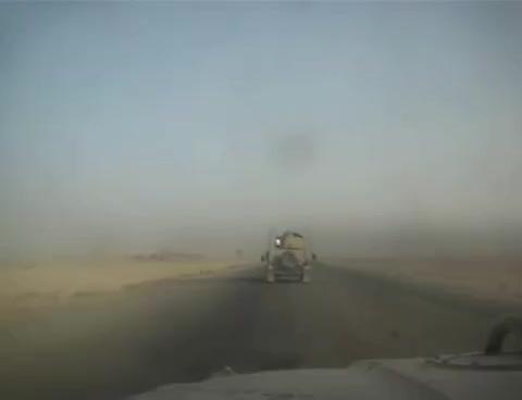 convoy bomb road iraq, Convoy GIFs