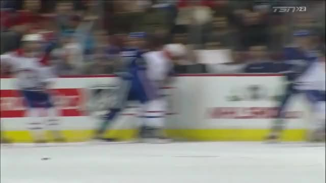 Watch Boeser Goal 18 vs Habs TSN Replays GIF by blueshirtsbreakaway on Gfycat. Discover more related GIFs on Gfycat
