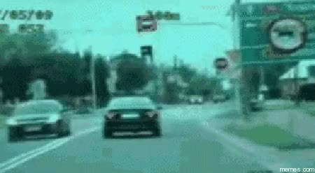Watch Lucky guy comes out scratch free after blowing stop sign GIF on Gfycat. Discover more related GIFs on Gfycat