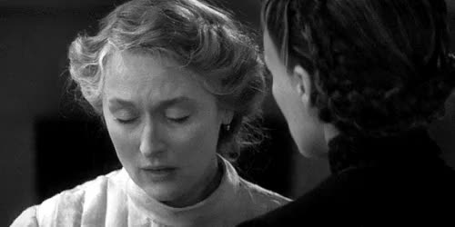 Watch this trending GIF on Gfycat. Discover more Glenn Close, Meryl Streep, love it!!, love their relationship, love this movie, the house of the spirits GIFs on Gfycat