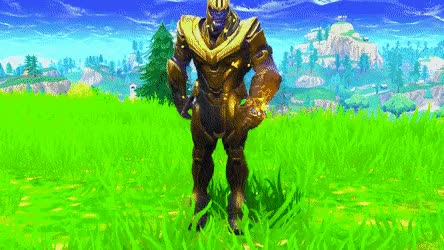 Watch and share Thanos Is A Noob In GIFs by FORTNITE4ever on Gfycat