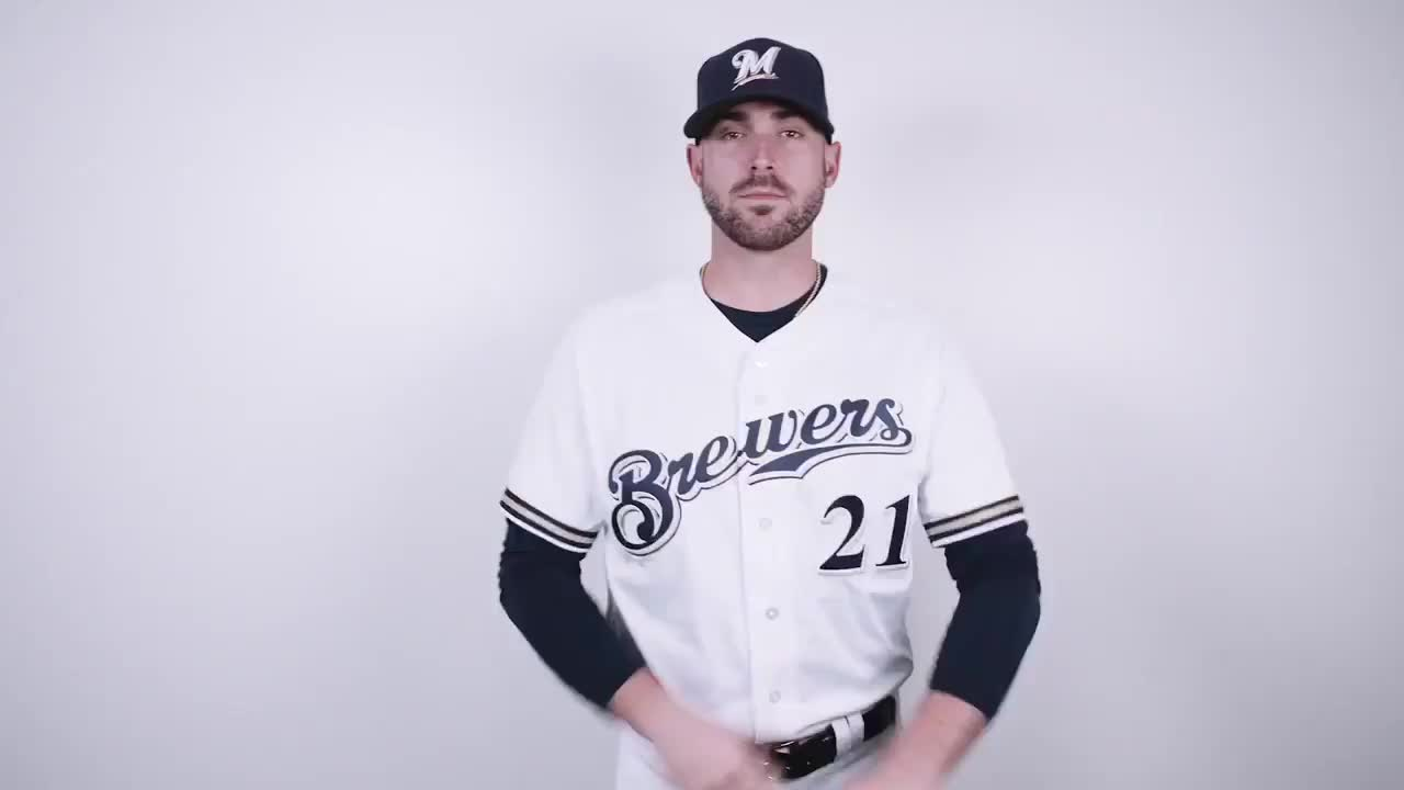 Milwaukee Brewers, Milwaukee Brewers - Photo day shenanigans.   GIFs coming soon to a Twitter account near you.  #ThisIsMyCrew GIFs