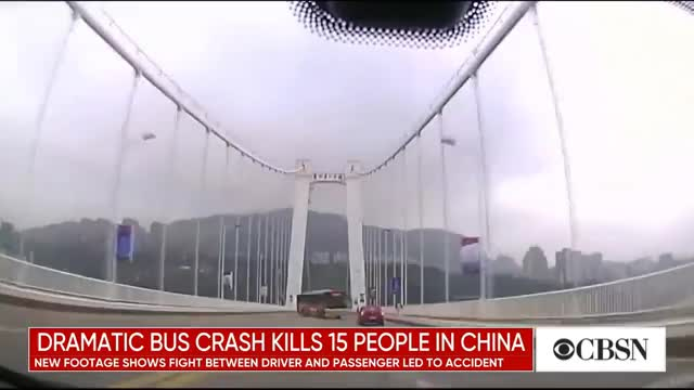 Watch Dramatic video shows bus plunge off bridge GIF on Gfycat. Discover more Bridge, cbsn, china, video, world GIFs on Gfycat