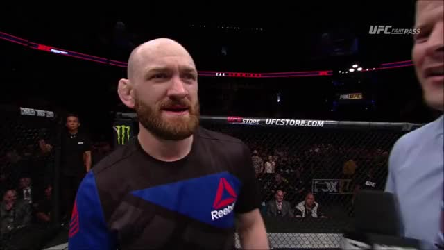 Watch ufc on fox 24 - zak cummings fist bumps brian stann GIF on Gfycat. Discover more zak cummings GIFs on Gfycat
