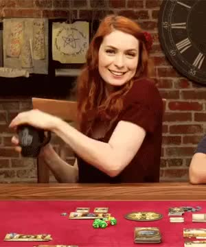 Watch TableTop gifs GIF on Gfycat. Discover more felicia day GIFs on Gfycat