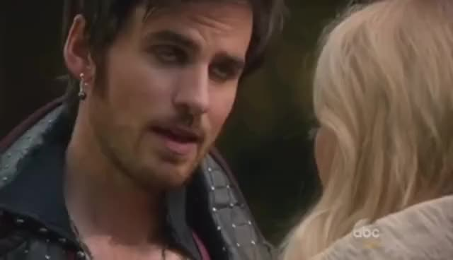 "Watch OUAT (5x07) -  ""Nimue"" (Hook Scenes) - Part 1 GIF on Gfycat. Discover more related GIFs on Gfycat"