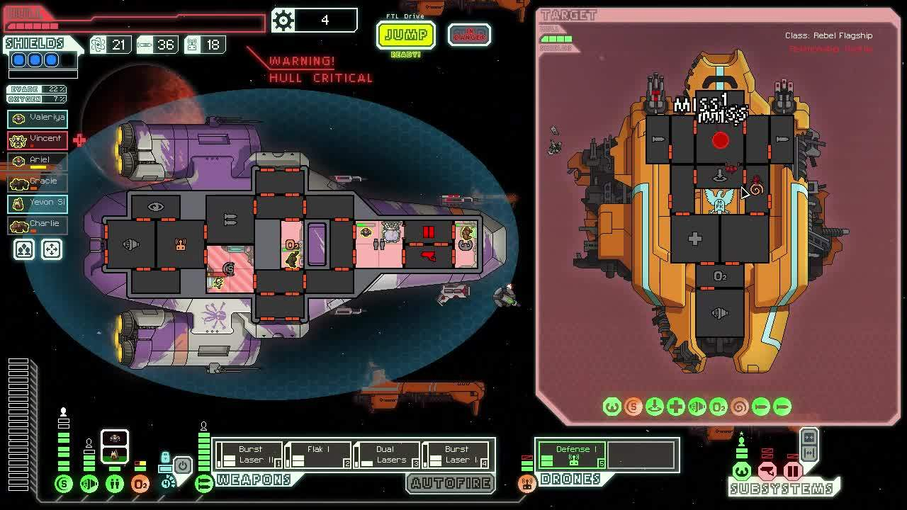 ftlgame, patientgamers, Defense Drone MVP GIFs