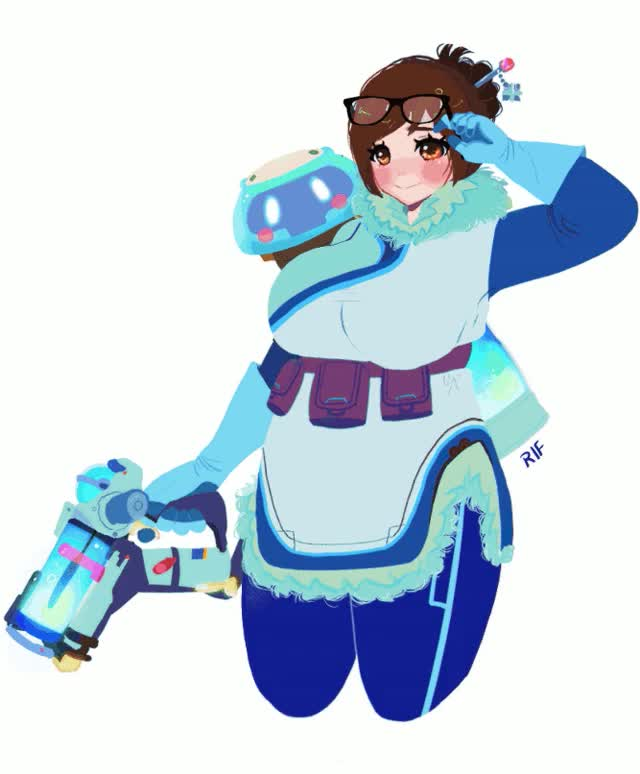 Watch and share Overwatch Mei GIFs on Gfycat