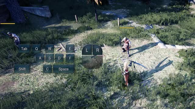 Watch and share [INVEN] BDO Lahn Awakening Combo #2 GIFs by Invenglobal on Gfycat