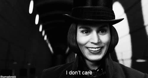 dont care, i don't care, i dont care, idc, johnny depp, rude GIFs