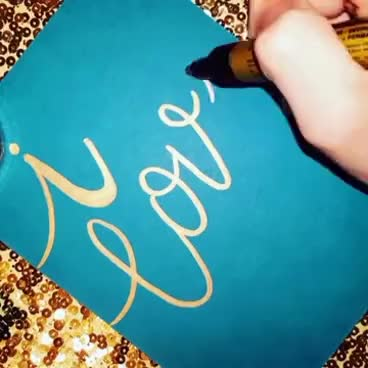 Watch and share I Love You Calligraphy GIFs on Gfycat
