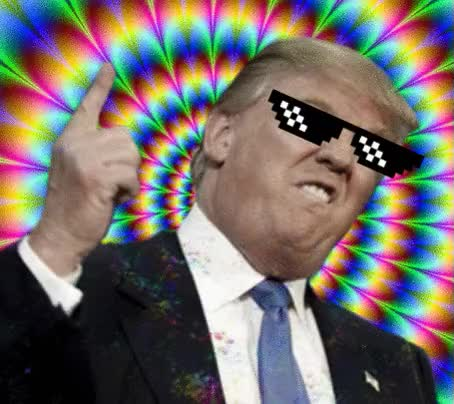 Watch and share Donald Trump Gif (request) By XRavenPiex GIFs on Gfycat
