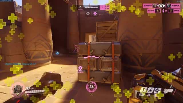Watch pink GIF by @hanbammer on Gfycat. Discover more ana, overwatch GIFs on Gfycat