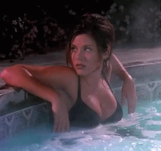 Watch and share Tiffani Thiessen GIFs and Hot Tub GIFs on Gfycat