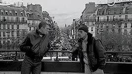 Watch this trending GIF on Gfycat. Discover more *, 90's, black & white, film, g*, gif, hubert, hubert koundé, la haine, m*, mathieu kassovitz, saïd, saïd taghmaoui, ullmanns, vincent cassel, vinz GIFs on Gfycat