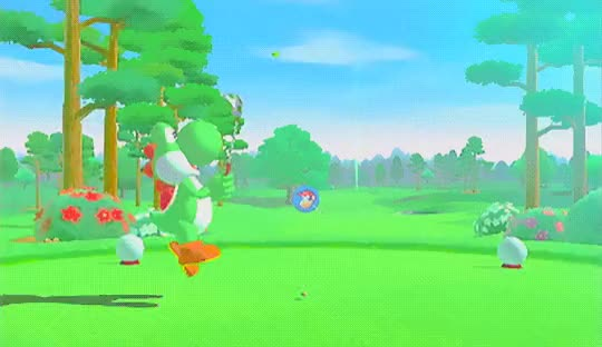 Watch Golf Yoshi GIF by themariostars (@the-mario-stars) on Gfycat. Discover more golf, nintendo, video games, yoshi GIFs on Gfycat