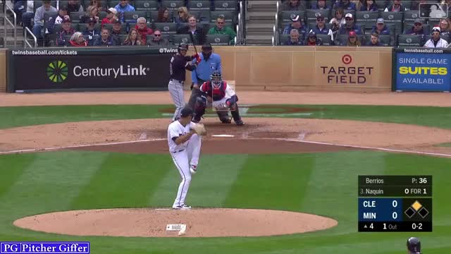 Watch and share Cleveland Indians GIFs and Minnesota Twins GIFs by Pitcher Giffer on Gfycat