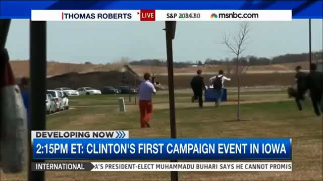 Watch and share Reporters Chase Hillary Van GIFs on Gfycat