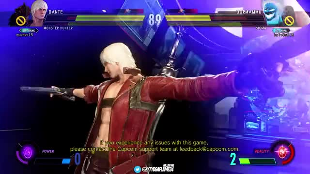 Watch and share Marvel Vs Capcom GIFs and Gameplay Mvci GIFs by EventHubs on Gfycat