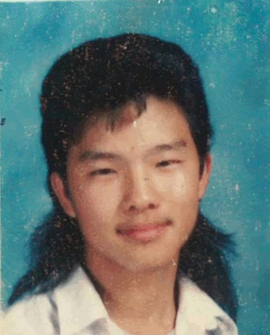 Yup, standard mullet pic from high school. If you look carefully, you can see... | Rebrn.com GIFs