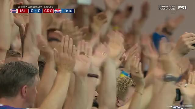 Watch iceland fans thunderclap GIF on Gfycat. Discover more related GIFs on Gfycat
