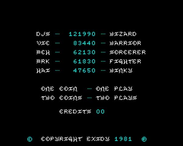 Watch Venture by Exidy  1981 GIF on Gfycat. Discover more Arcade, Classic, Old School, Venture, Video Game GIFs on Gfycat