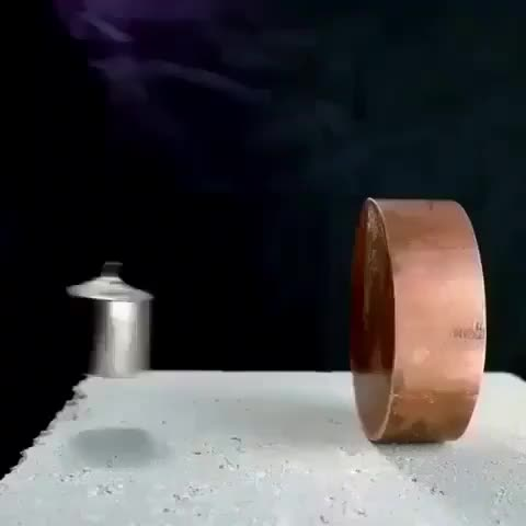 oddly satisfying, science, Magnet and copper GIFs