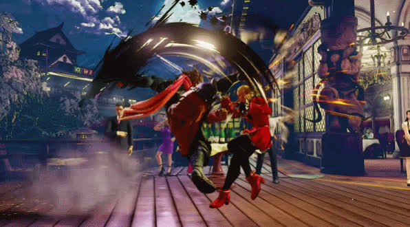 SFV, Street Fighter, Zeku - Critical Art GIFs