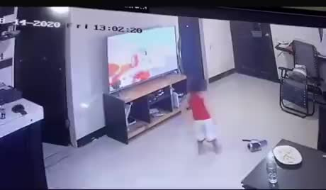 Kids are trouble - gif