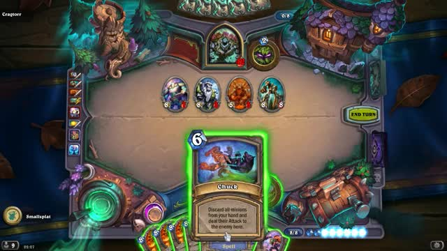 Watch HearthStone Chuck GIF by @smallsplat on Gfycat. Discover more related GIFs on Gfycat