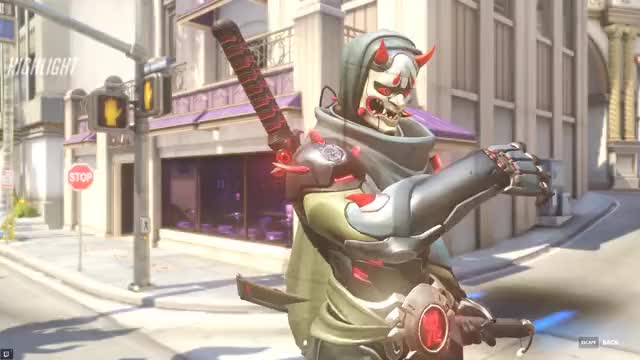 Watch and share Pretend Genji GIFs by dataeater on Gfycat