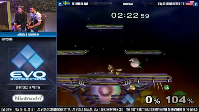 EVO 2016: Armada Vs. Hungrybox - Grand Finals