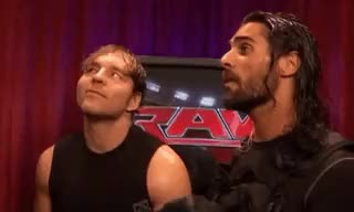 Watch and share Found It Funny GIFs and Dean Ambrose GIFs on Gfycat