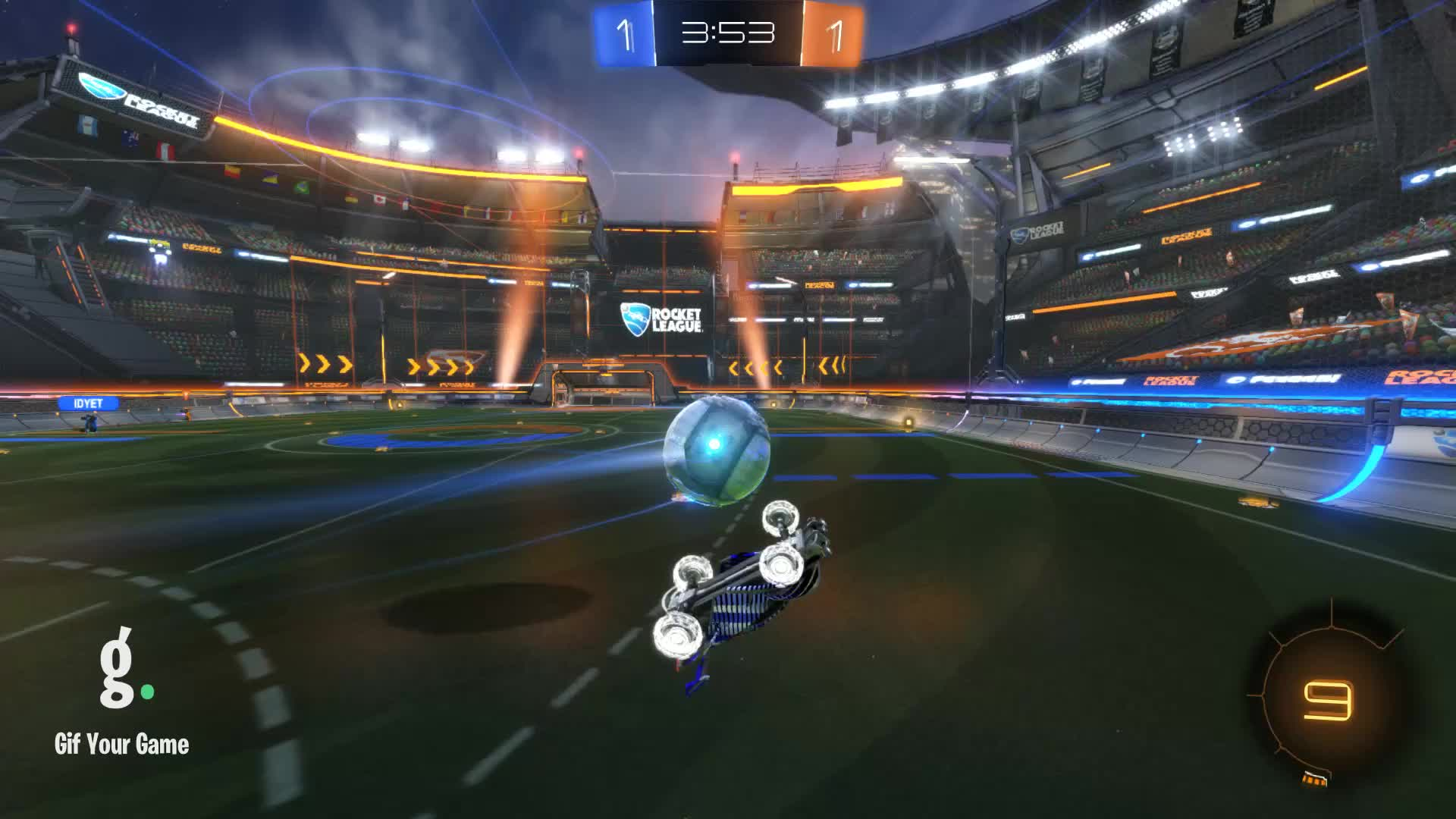 Gif Your Game, GifYourGame, Goal, Rocket League, RocketLeague, Zook, Goal 3: Zook GIFs