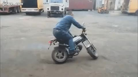 Watch and share Motorbike Crash Gif Animation Animation GIFs on Gfycat