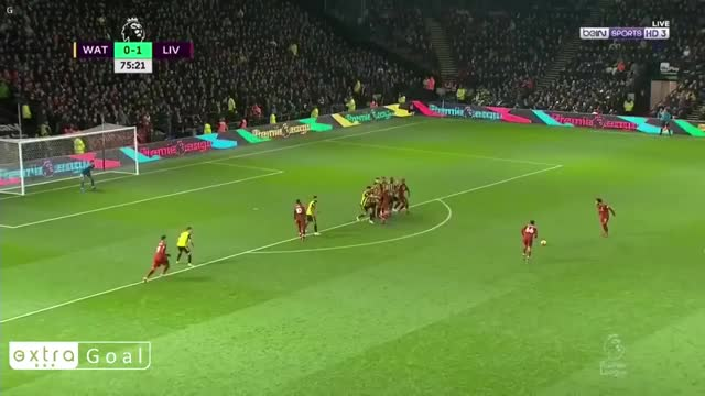 Watch and share Alexander Arnold Goal Vs Watford 18-19 GIFs by FIFPRO Stats on Gfycat