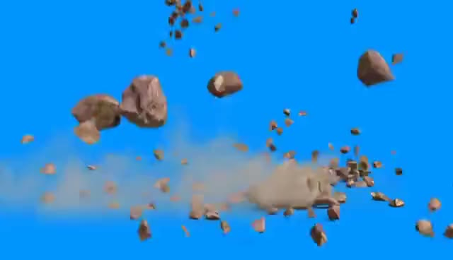 Watch and share Green Screen Rock Fall Stones Mountain - Footage PixelBoom GIFs on Gfycat