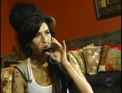 Watch Amy GIF on Gfycat. Discover more amy, interview, leah, miller, mock, muchmusic, rough, winehouse GIFs on Gfycat