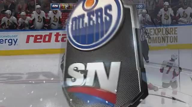 Watch and share McDavid Mauled By Karlsson GIFs by cultofhockey on Gfycat