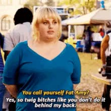 Watch and share Fat Amy GIFs on Gfycat