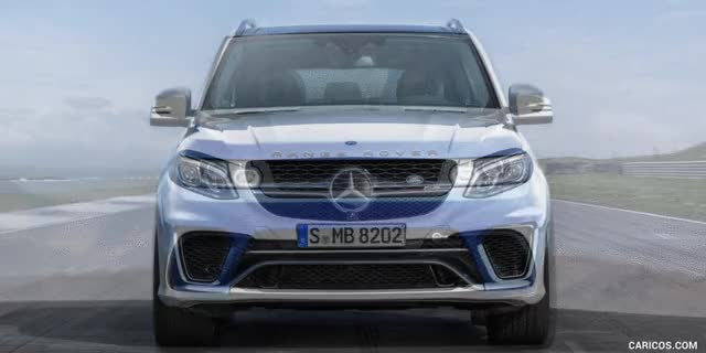 Watch and share Range Rover Sport Vs Mercedes Gle Front GIFs on Gfycat