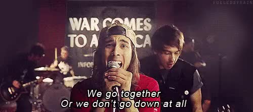 Watch All Time Low- A Love Like WarCredit- Fueled By Rain GIF on Gfycat. Discover more ATL lyrics, All Time Low, PTV, a love like war, alex garskath, all time low A love like war, all time low lyrics, band lyrics, bandom, bandom lyrics, bands, fandoms, jack barakat, love, lyrics, pierce the veil, pierce the veil lyrics, punk, rian dawson, rock, vic fuentes, war, zack merrick GIFs on Gfycat